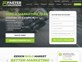 fasterproductions.com screenshot