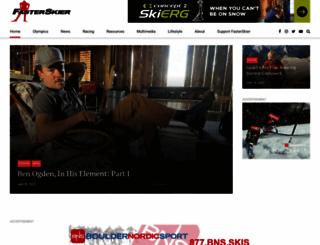 fasterskier.com screenshot
