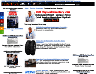 fastertruck.com screenshot