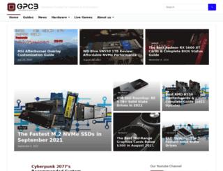 fastestssd.com screenshot