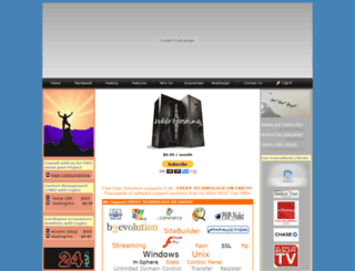 fasthostsolutions.com screenshot