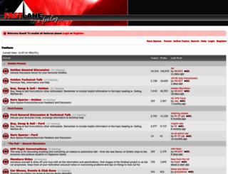 fastlane.com.au screenshot