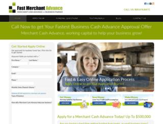 fastmerchantadvance.com screenshot