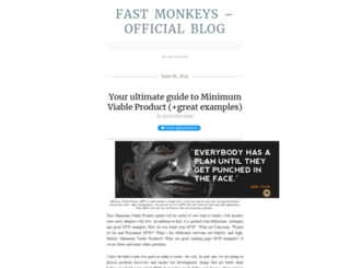 fastmonkeys.wordpress.com screenshot