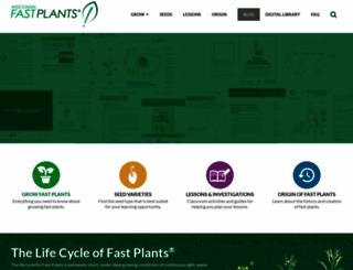 fastplants.org screenshot