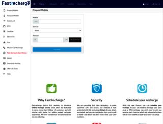 fastrecharge.com screenshot