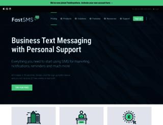 fastsms.co.uk screenshot