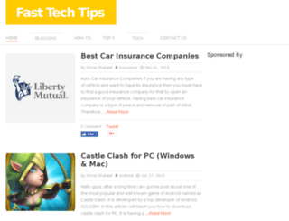 fasttechtips.com screenshot