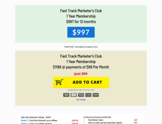fasttrack.club screenshot