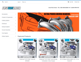 fastwayracer.com screenshot