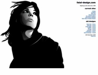 fatal-design.com screenshot