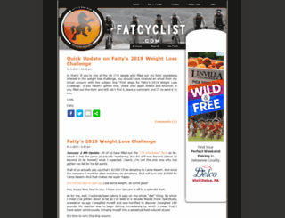 fatcyclist.com screenshot