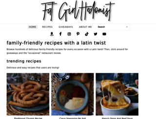 fatgirlhedonist.com screenshot