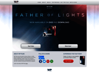 fatheroflights.wpfilm.com screenshot