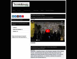 fatherrosado.com screenshot