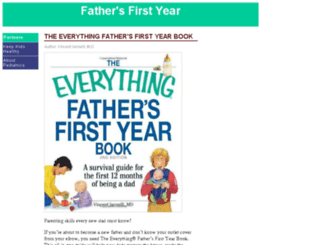 fathersfirstyear.com screenshot