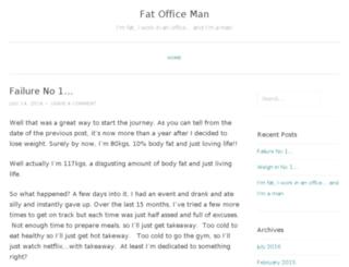 fatofficeman.com screenshot