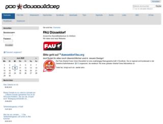 fau-duesseldorf.org screenshot