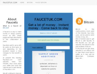 faucetuk.com screenshot