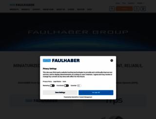 faulhaber-group.com screenshot