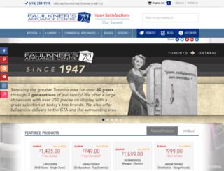 faulknersappliance.com screenshot