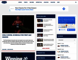 fausports.com screenshot