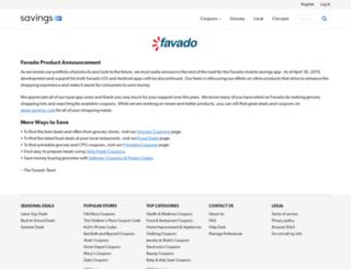 favado.com screenshot