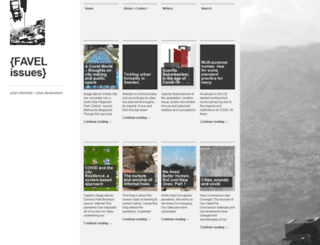 favelissues.com screenshot