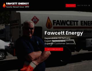 fawcettenergy.com screenshot