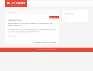 fawkd.com screenshot