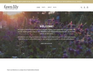 fawnlilybotanica.com screenshot
