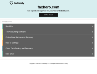 faxhero.com screenshot
