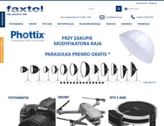 faxtel.com.pl screenshot