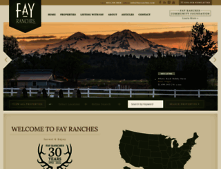fayranches.com screenshot