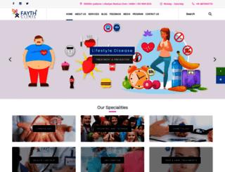 faythclinic.com screenshot