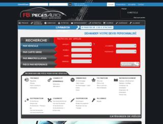fb-pieces-auto.com screenshot