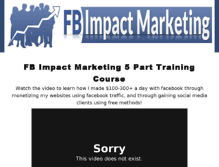 fbimpactmarketing.com screenshot