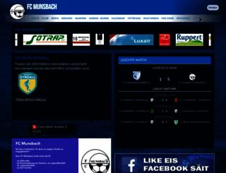 fc-munsbach.com screenshot