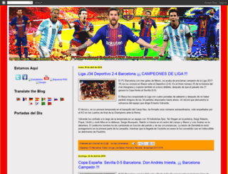fcbarcelonahistorico1899.blogspot.com screenshot