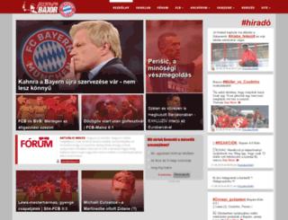 fcbayernmunchen.hu screenshot