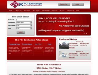 fciexchange.com screenshot