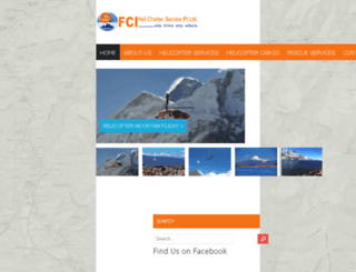 fcihelicharter.com screenshot
