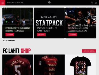 fclahti.fi screenshot