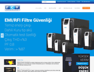 fcm.com.tr screenshot