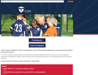 fcpohu.fi screenshot