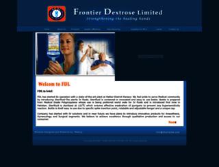 fdlpharma.com screenshot