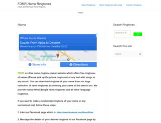 fdmr.mobi screenshot