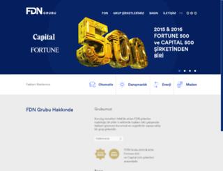 fdngrubu.com screenshot