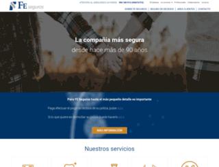 fe-seguros.com screenshot
