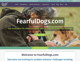 fearfuldogs.com screenshot